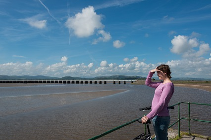 Cycling to Arnside
