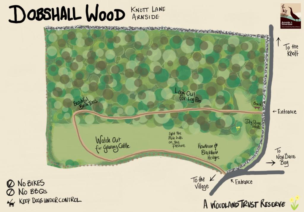 Dobshall Wood Map