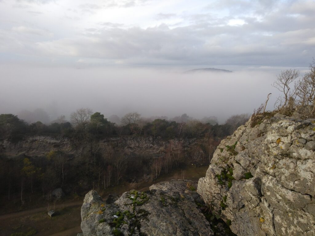 Trowbarrow Cloud Inversion AONB